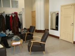 Teacher's coat room