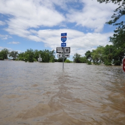 flood-street-sign