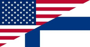 us-and-finnish-flags